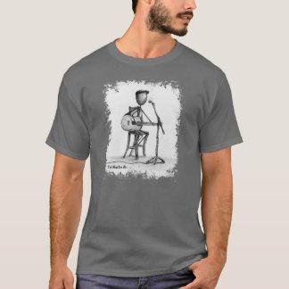 Camiseta Stickman - homens T da guitarra