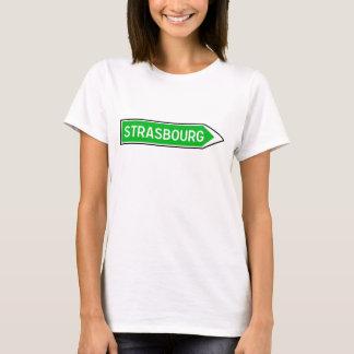 Camiseta Strasbourg, sinal de estrada, France