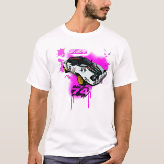 Camiseta stratos de Lancia. reunião