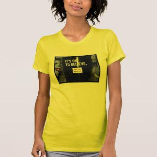 Camiseta Sua aprovação para acreditá-lo é bonita