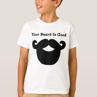 Camiseta sua barba é boa