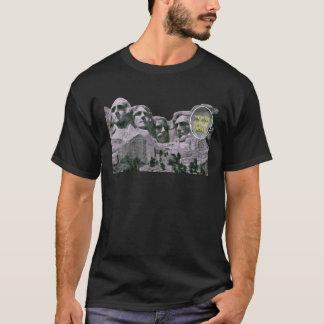 Camiseta Sua cara em Mt Rushmore