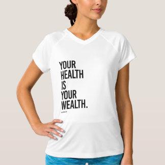 Camiseta Sua saúde é sua riqueza - .png