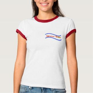 Camiseta Subaquático ninguém pode ouvi-lo gritar