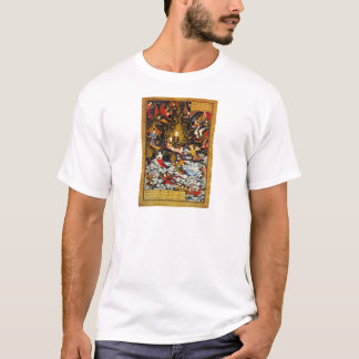 Camiseta Subida de Miraj Muhammad pela sultão Muhammad