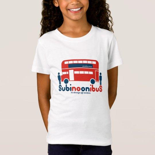 Camiseta subinoonibus