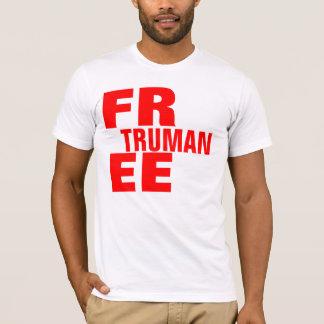 Camiseta Substituição livre de Truman - personalizada