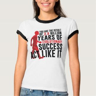 Camiseta Sucesso evolucionário