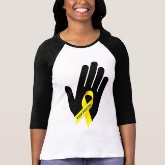 Camiseta Suicídio da parada - T da prevenção do suicídio