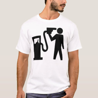 Camiseta Suicídio pelo bocal de gás
