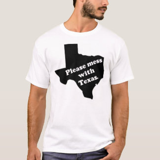 Camiseta Suje por favor com Texas