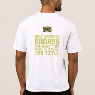Camiseta Sujeira transportada por via aérea da guarda