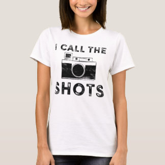 Camiseta Sujo eu chamo o design do fotógrafo dos tiros
