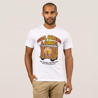 Camiseta Sul, parafusos & t-shirt das sucatas