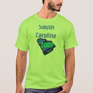 Camiseta sul, South Carolina, 2007