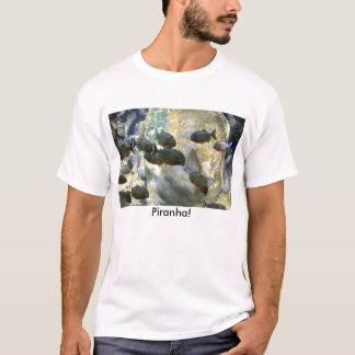 Camiseta Sul - t-shirt americano dos peixes do Piranha