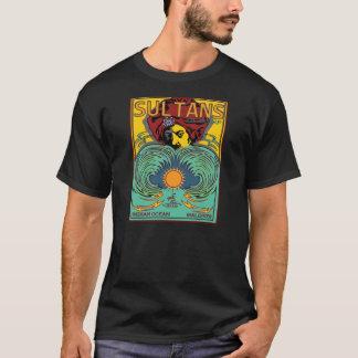 Camiseta Sultões do Oceano Índico de Maldives do surf