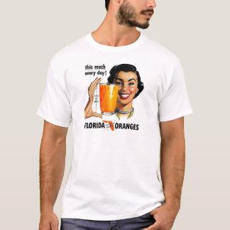 Camiseta Sumo de laranja de Florida