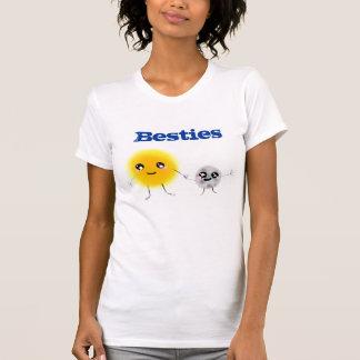 Camiseta Sun e lua Besties