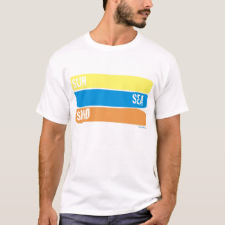 Camiseta Sun-Mar-Areia