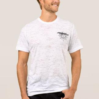 Camiseta sun&moon T da banda de Jones do stacy dos homens