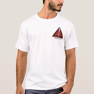 Camiseta SunBurst II da força de delta
