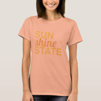 Camiseta SUNSHINE STATE - ensolarado, estado de ânimo de
