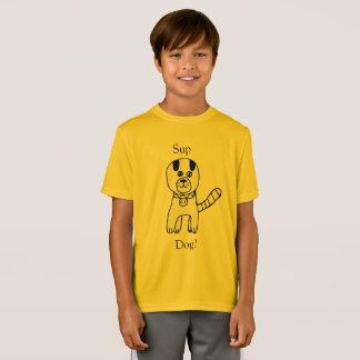 Camiseta Sup, cão? Criação surpreendente do cão por Claire