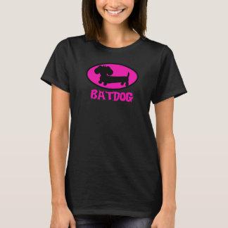 Camiseta Super-herói do cão do Wiener do cão do bastão