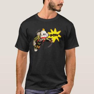 Camiseta Super-herói SockMonkey