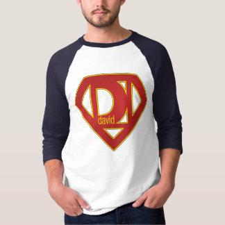 Camiseta SuperDavid - 3/4 de luva
