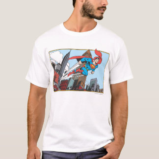 Camiseta Superman & arranha-céus