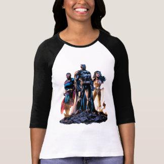 Camiseta Superman, Batman, & trindade da mulher maravilha