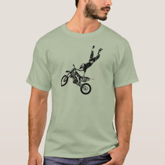 Camiseta Superman da bicicleta da sujeira