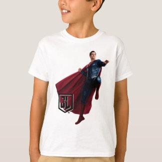 Camiseta Superman da liga de justiça | no campo de batalha