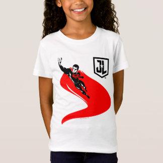 Camiseta Superman da liga de justiça | que voa o pop art