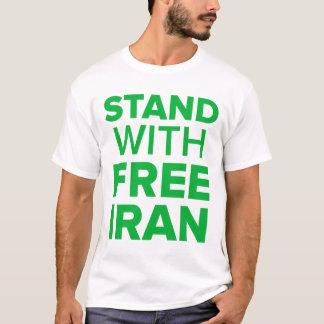 Camiseta Suporte com Irã-Tweet livre contra o t-shirt da