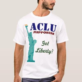 Camiseta Suporte de ACLU