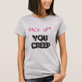 Camiseta Suporte-o T de Hillary do rastejamento