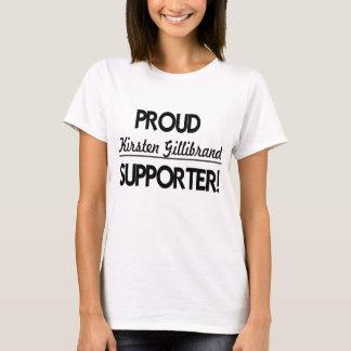 Camiseta Suporte orgulhoso de Kirsten Gillibrand!