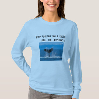 Camiseta Suporte que suja para uma causa