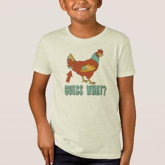 Camiseta Suposição que? ..... Bumbum da galinha!