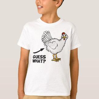 Camiseta Suposição que bumbum da galinha