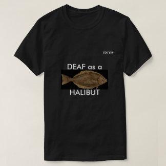 Camiseta SURDO como um ALABOTE no preto