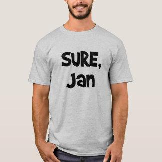 Camiseta Sure, t-shirt de janeiro