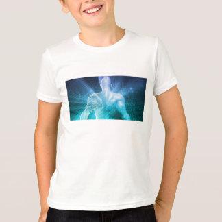 Camiseta Surfando a Web ou o Internet como um conceito de