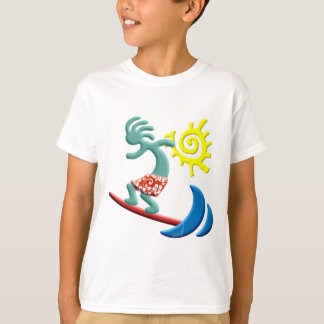 Camiseta Surfar de Kokopelli