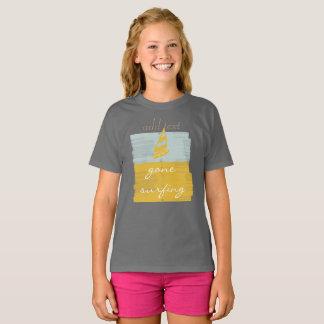 Camiseta Surfar ido no estilo personalizado caçoa o t-shirt