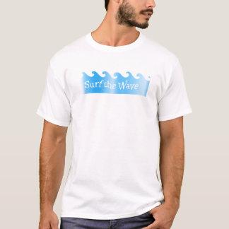 Camiseta surfe a onda