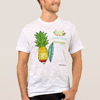Camiseta surfista-gajo-abacaxi-lbb-blogue, disigned pelo